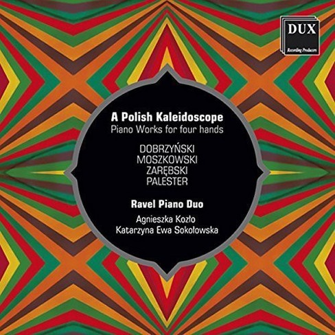 Ravel piano duo - Polish kaleidoscope (CD) - image 1 of 1