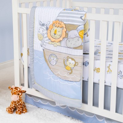 Sammy & LouCrib Bedding Set - Noah's Ark 4pc