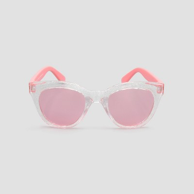 Baby Girls' Cat Eye Litter Sunglasses - Just One You® made by carter's Black