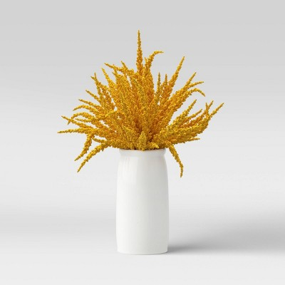 "16"" Large Artificial Goldenrod Arrangement - Threshold™"
