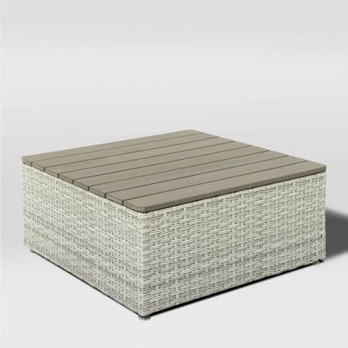 Square Patio Coffee Table - CorLiving - image 1 of 4