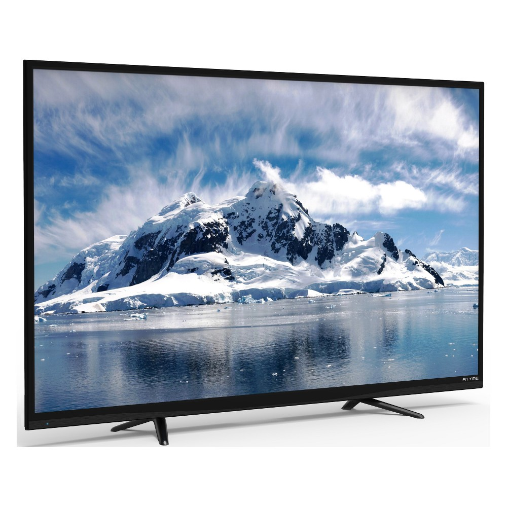 Atyme 55 Class 4K (2160P) Led TV (550AM7UD) Sit back, relax, and enjoy your favorite entertainment on ATYME's 55-inch flatscreen with crystal clear images and audio. ATYME's Uhd Televisions have built-in upscaling technology - full HD source can be enhanced to stunning near ultra high-definition experience with enhanced detail and optimized picture quality. With 4k resolution, you'll enjoy watching your favorite shows with images that are 4 times sharper than Full HD. The Atyme 55 flat screen Led television has three Hdmi inputs, Usb Media Play, wall mounting capabilities and a Mts/Sap stereo system. Trust Atyme, a leading Hdtv company in America, for premium quality televisions built to last. Higher performance, smarter products with the latest technology at a significant savings to you and your family is simply beautiful.