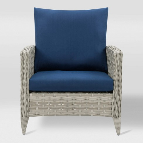 Parkview Patio Chair - Light Gray - CorLiving - image 1 of 6