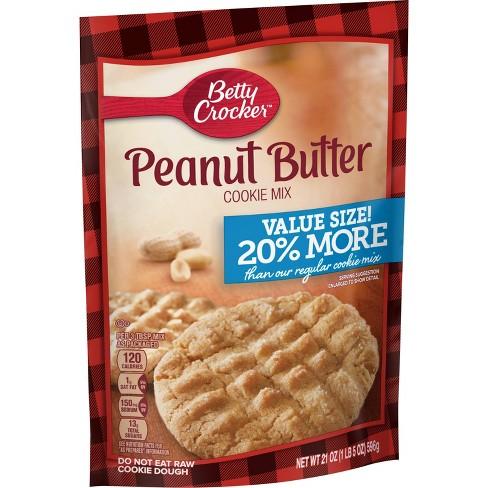 Betty Crocker Peanut Butter Cookie Mix - 21oz - image 1 of 3