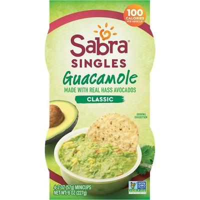 Sabra Classic Guacamole Singles - 8oz/4pk