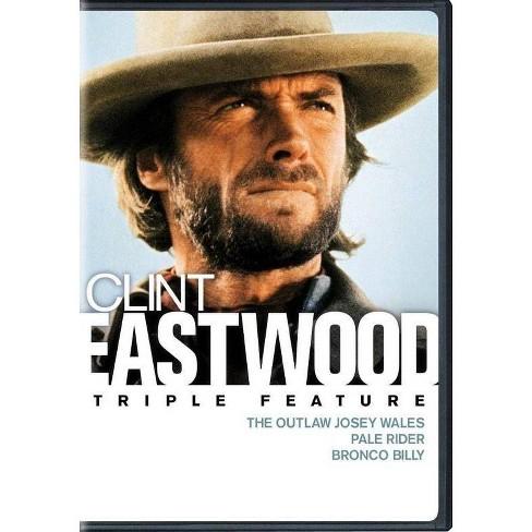 The Outlaw Josey Wales / Pale Rider / Bronco Billy (DVD)