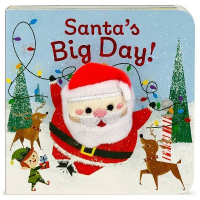 Santa's Big Day (Board Book) - by Holly Berry by