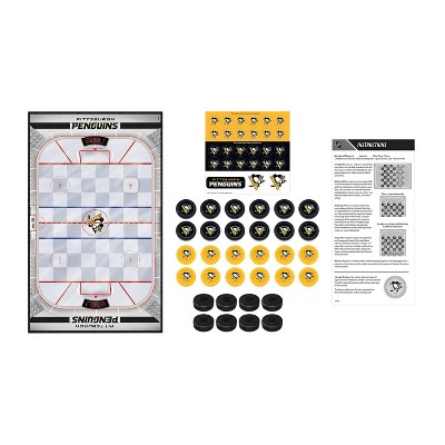 NHL Pittsburgh Penguins Checkers Game