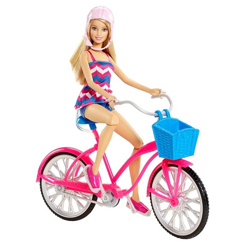 Barbie Glam Bike and Doll - image 1 of 3