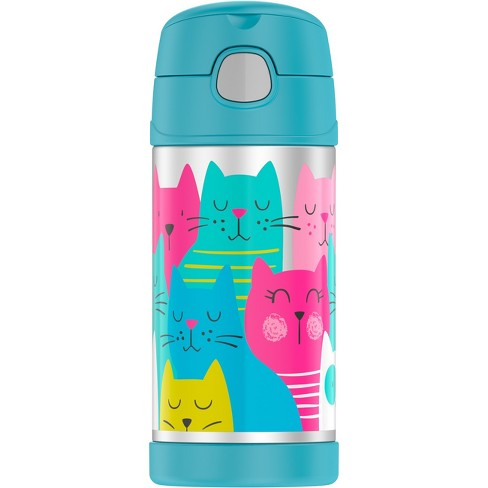 Thermos 12oz Funtainer Water Bottle - Cats - image 1 of 4