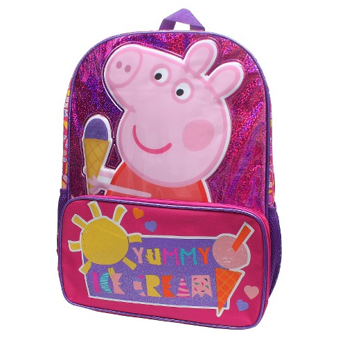 "Entertainment One 14"" Yummy Ice Cream Mini Kids' Backpack - Peppa Pig - image 1 of 1"