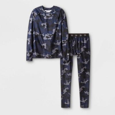 Boys' 2pk Thermal Set Underwear - All in Motion™ Navy