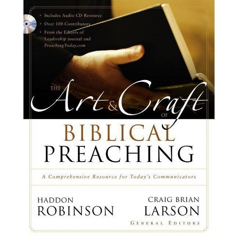 The Art and Craft of Biblical Preaching - by  Zondervan (Hardcover) - image 1 of 1