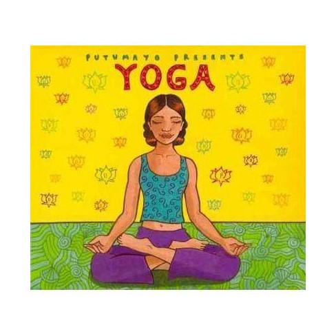 Putumayo Presents - Putumayo Presents: Yoga (Digipak) (CD) - image 1 of 1