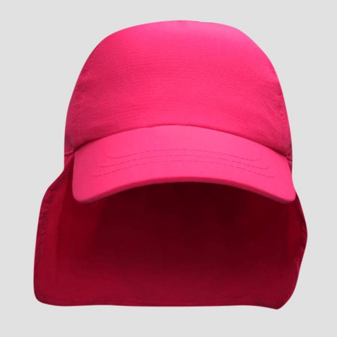 6ae2f682e9a Toddler Girls  Baseball Hat With Neck Flap - Cat   Jack™ Pink 2T-5T   Target