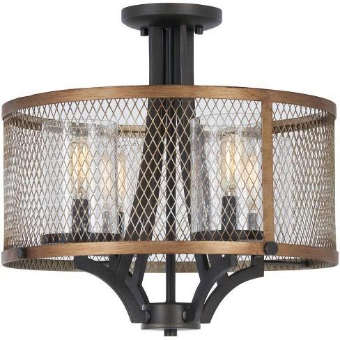 "Minka Lavery 4698 4 Light 16-1/2"" Wide Semi-Flush Ceiling Fixture - image 1 of 1"