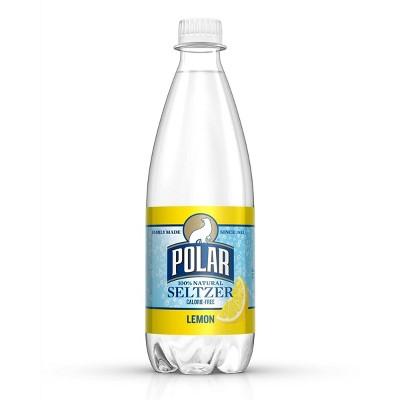 Polar Seltzer Lemon - 20oz