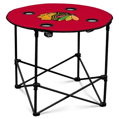 NHL Chicago Blackhawks Folding Table