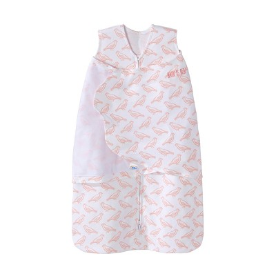 Halo Sleepsack Swaddle 100% Cotton - Pink Birds - SM