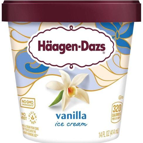 Haagen-Dazs Vanilla Ice Cream - 14oz - image 1 of 4