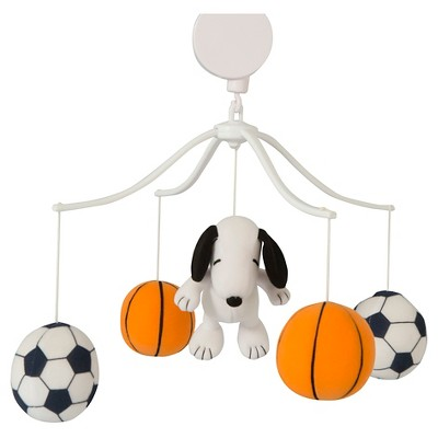 Peanuts Musical Mobile - Snoopy Sports