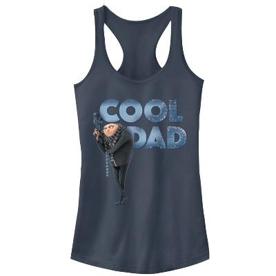 Junior's Despicable Me Gru Cool Dad Racerback Tank Top