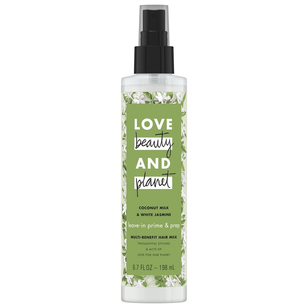 Image of Love Beauty and Planet Coconut Milk & White Jasmine Multi-Benefit Hair Milk - 6.7oz