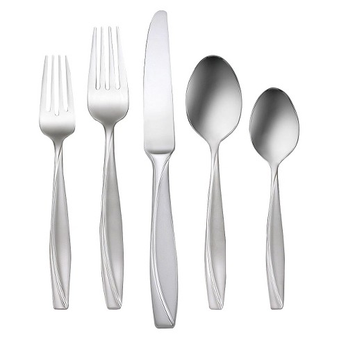 Oneida Camlynn 20 Piece Silverware Set - image 1 of 2