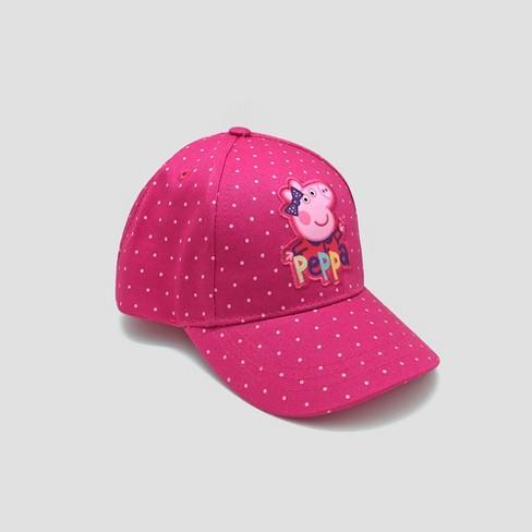 Toddler Girls  Peppa Pig Baseball Hat - Pink One...   Target 40215b1104e