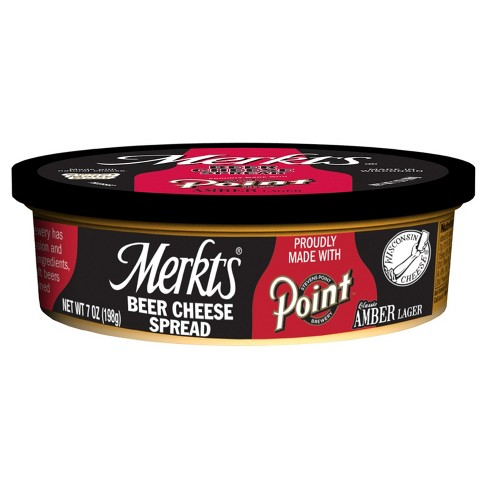 Merkts Classic Amber Lager Beer Cheese Spread - 7oz - image 1 of 1
