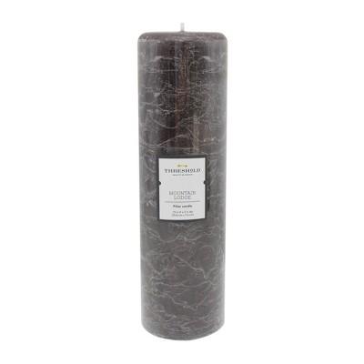 10  x 3  Iced Pillar Candle Mountain Lodge - Threshold™