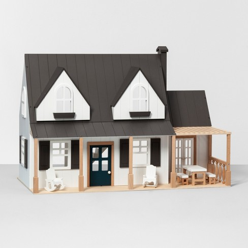 Toy Doll Farmhouse - h & Hand™ with Magnolia Ranch Dollhouse Plans on wooden toy car plans, wooden toy train plans, black box plans, tool tote plans, serenity plans, er plans, bookcase plans, sanctuary plans, woodworking plans, wooden pull toys plans, life plans, firefly plans, floor plans,