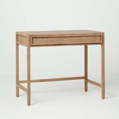 Wood & Cane Transitional Writing Desk - Hearth & Hand™ with Magnolia