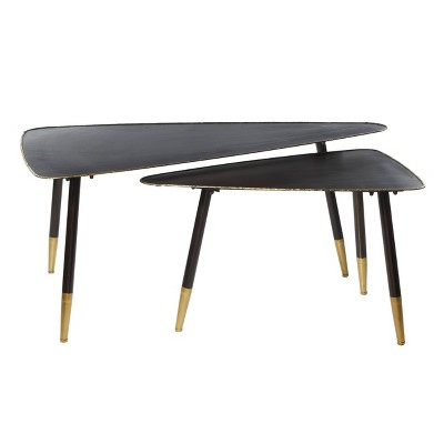 2pk Aluminum Accent Table - Olivia & May