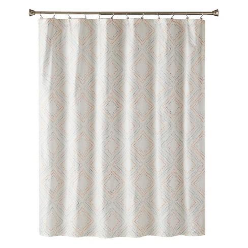 Di Shower Curtain Coral