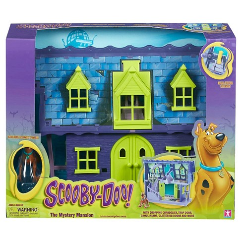Quest Scooby Doo Mystery Mansion Playset Monsters And Horror Figures - image 1 of 7