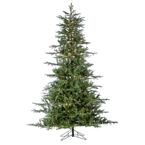 9ft Sterling Tree Company LED Full Natural Cut Portland Pine Artificial Christmas Tree - image 1 of 4