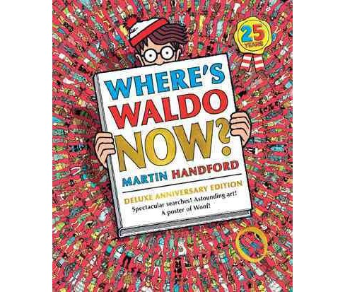 Where's Waldo Now? -  (Where's Waldo?) by Martin Handford (School And Library) - image 1 of 1