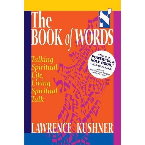 The Book of Words - (Kushner) by  Lawrence Kushner (Paperback) - image 1 of 1