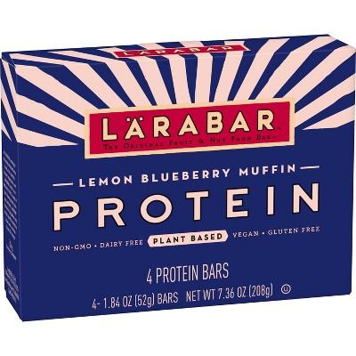 Larabar Protein Lemon Blueberry Bars - 7.36oz/4ct