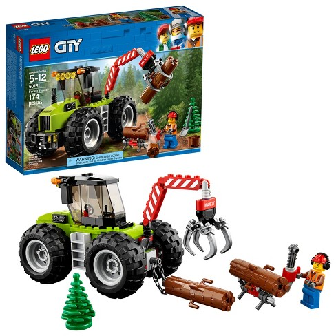 Lego City Great Vehicles Forest Tractor 60181 Target
