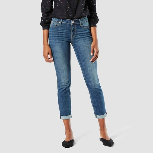 DENIZEN® from Levi's® Women's Modern Slim Cuffed Jeans - image 1 of 3