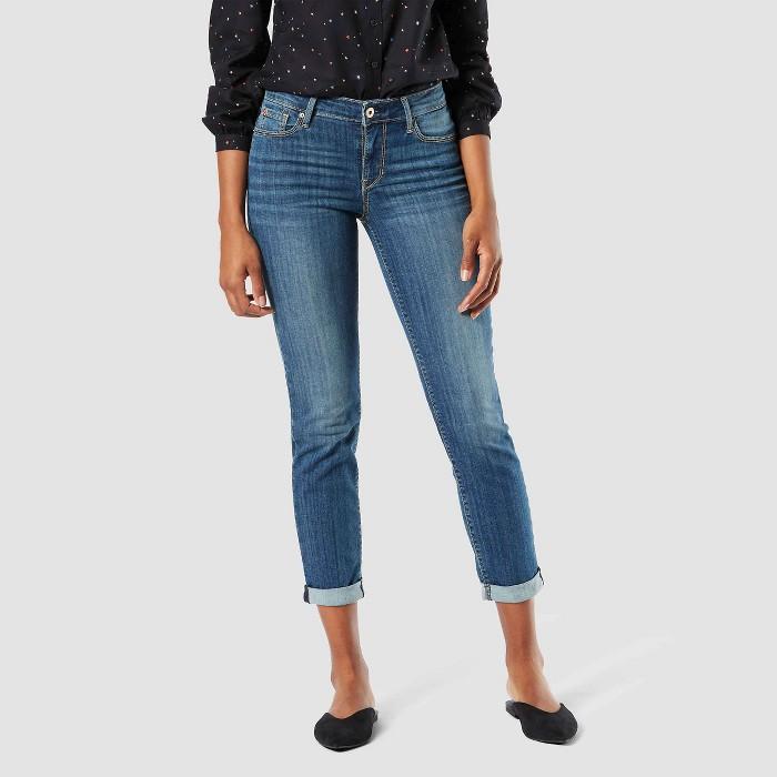 DENIZEN® from Levi's® Women's Modern Slim Cuffed Jeans - image 1 of 3