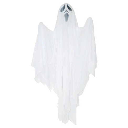 32 Halloween Hanging Ghost Dcor White