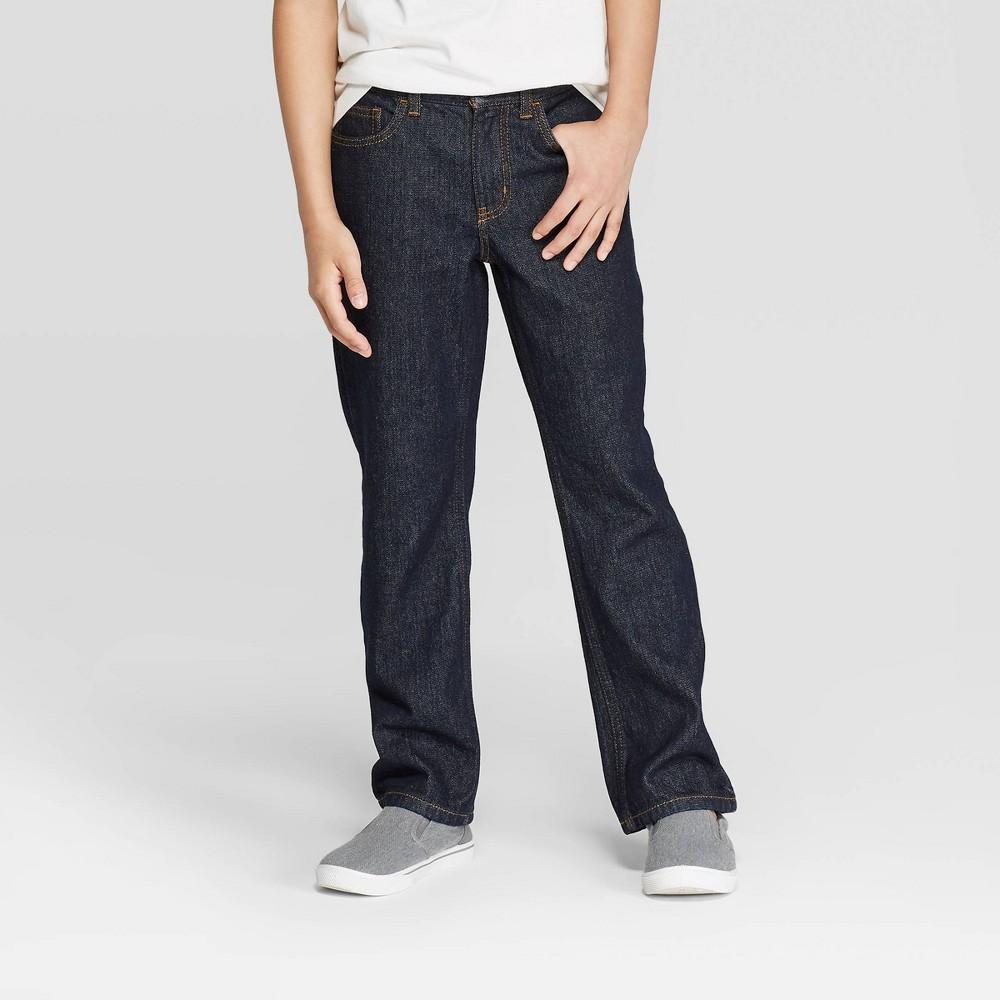 Best Price Boys Jeans Cat Jack Dark Wash 5 Blue