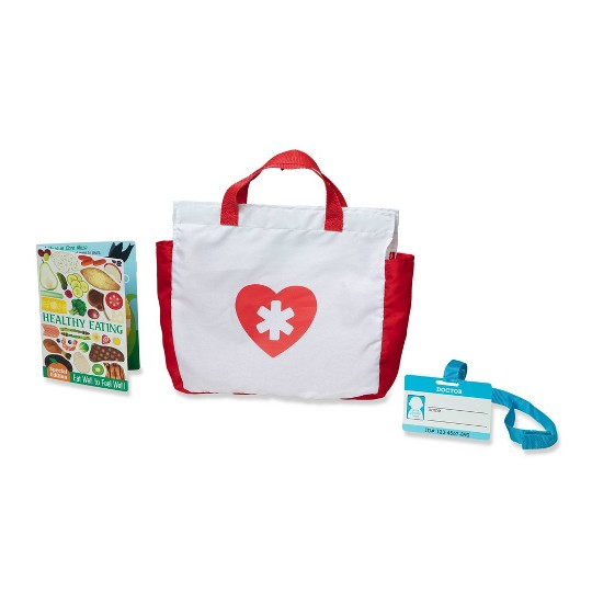 Melissa & Doug Get Well Doctor's Kit Play Set image number null