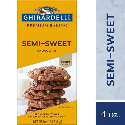 Baking Chips & Chocolate: Ghirardelli Semi-Sweet Chocolate Baking Bar