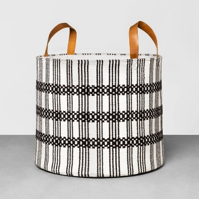 17  x 14  Jacquard Woven Cotton Basket - Hearth & Hand™ with Magnolia