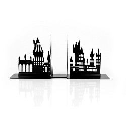 Seven20 Harry Potter Hogwarts Castle Metal Bookends | Glow In The Dark Castle Design