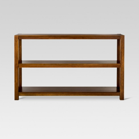 Parsons Horizontal Bookcase Espresso Threshold